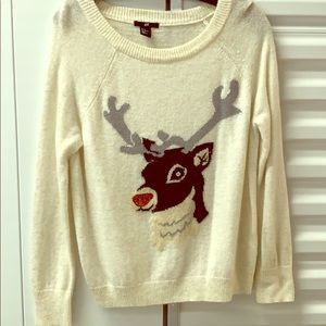 H&M Reindeer Sweater